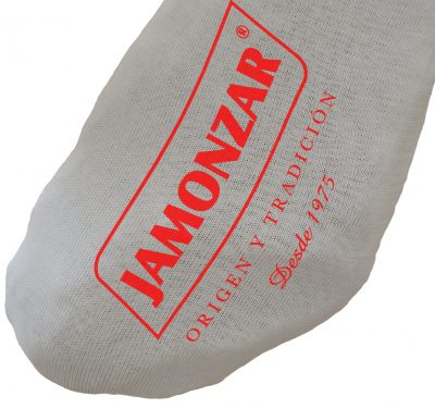 Funda de jamón algodón blanco cebo Jamonzar