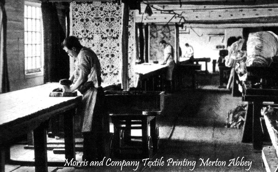Serigrafía impresión textil XIX