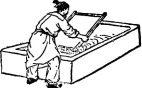 Impresión o serigrafía textil en Ásia