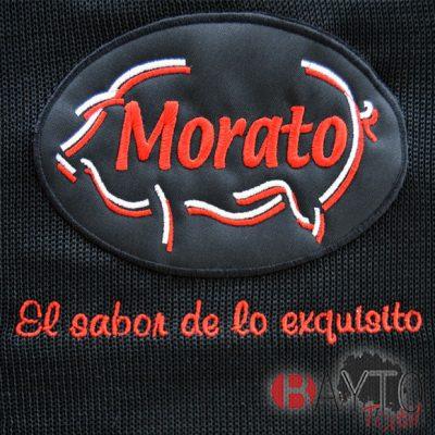 Funda de jamón bordada para Embutidos Morato
