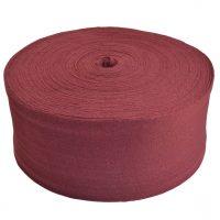 Funda de algodón para jamones roja en bobina